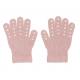 GoBabyGo Grip Gloves Dusty Rose